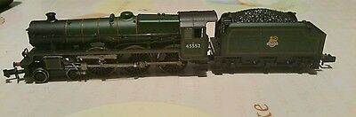Graham Farish 45552 Silver Jubilee BR Lined Green livery early crest - see desc