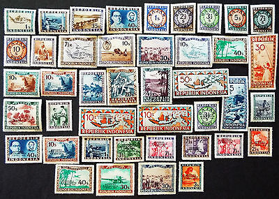 MINT INDONESIA STAMPS OF THE 1940s
