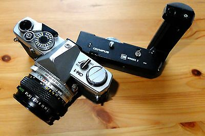 Olympus OM1 and Winder 2 could be used for spares.