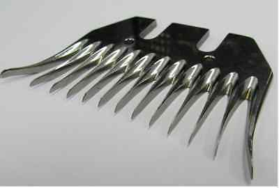 Pack of 5 - Professional Shearing Comb - 13 Teeth, 95mm Wide