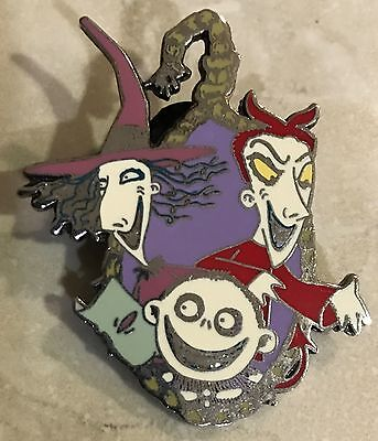 2003 Disney Official Trading Nightmare Before Christmas Lock Shock Barrel Pin