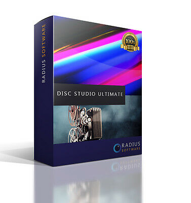 Disc Studio ULTIMATE. Burn CD/DVDs CONVERT video files to DVD to view on your TV