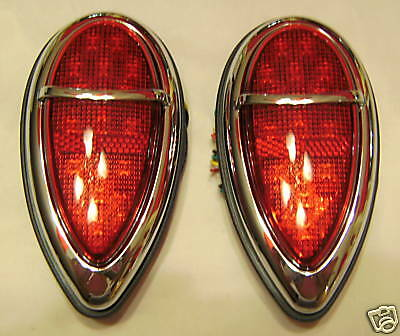 1938-1939 FORD Vintage Style LED 'Signature Series' Tail Lights COOL CUSTOM