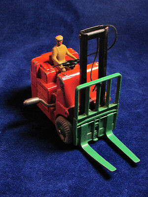 1950 Dinky Toy Conventry Climax Fork Lift VG Meccano