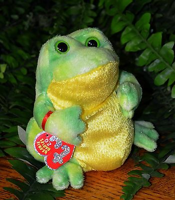 Ty Beanie Babies 2.0 JUMPS the FROG Retired .. Great Stocking Stuffer