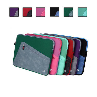 Neoprene Sleeve Cover Case w/ Front Pocket fit Lenovo Flex 4 14 Inch Convertible