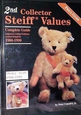 Steiff Bear Price Guide Collectors Book Store Exclusives Disney ++
