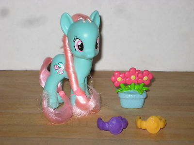 My Little Pony Friendship is Magic Minty Midnight in Canterlot Brushable Figure