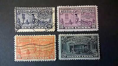 United States 1922-1925 Special delivery postage stamps