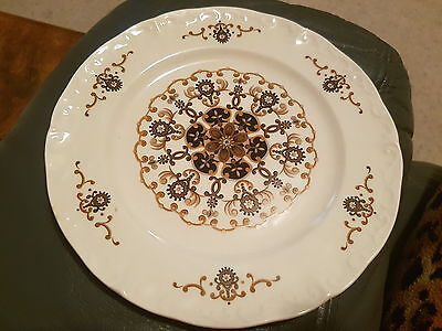 RIDGWAY 'Manila' Ironstone Side Plate 17.5cm. Made in England
