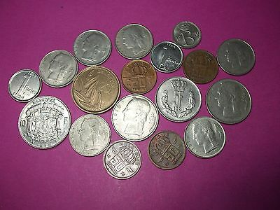 Collection Of World Coins - Belgium
