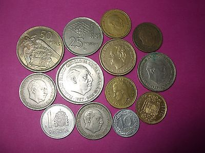 Collection Of World Coins - Spain