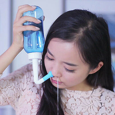 HOT Adults Children Neti Pot Nasal Nose Wash Yoga Detox Sinus  NEW
