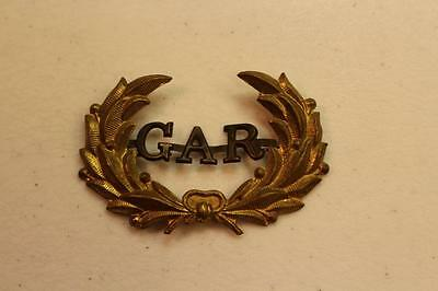 G A R Grand Army of the Republic Metal EMBLEM ENSIGNIA Piece for Hat? Uniform?
