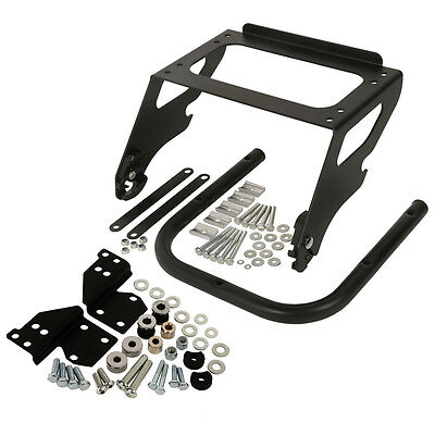 Tour Pak Pack Mount Docking Hardware Kit&Luggage Rack For Harley Touring 97-08