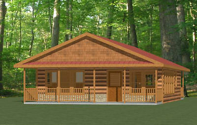 Tiny house plan ready to build 1 story 354 sf for 32x40 garage plans