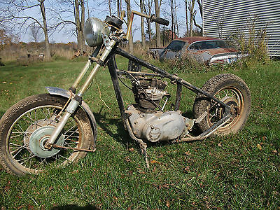 1966 Triumph Other  1966 Triumph TT Special Project Bike