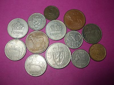 Collection Of World Coins - Norway