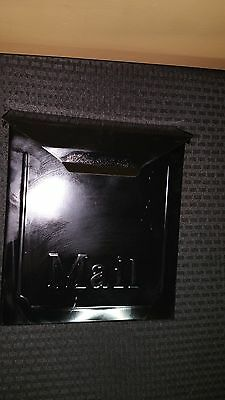 Vintage Metal House Wall Mount Mailbox Mail Box