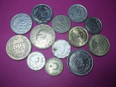 Collection Of World Coins - Turkey