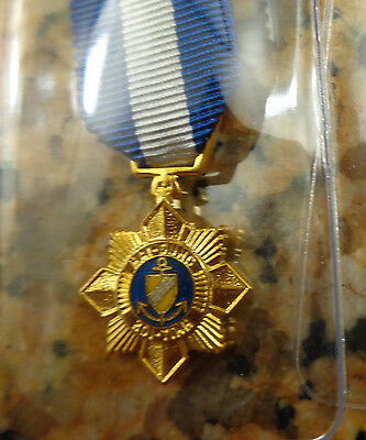 South Vietnam,navy Gallantry Cross, Wolfe Brown, No Brooch, Mini Size