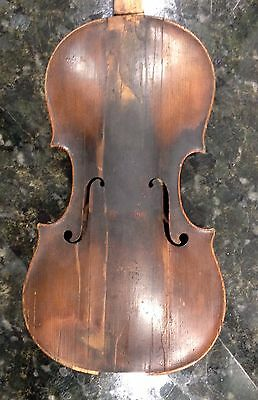 Old Ancient Baroque Violin 18th Possibly 17th Century English Or Italian