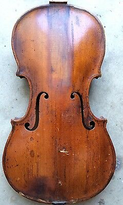 Old Baroque Violin For Restoration And Setup