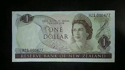 Reserve Bank Of New Zealand $1 Banknote