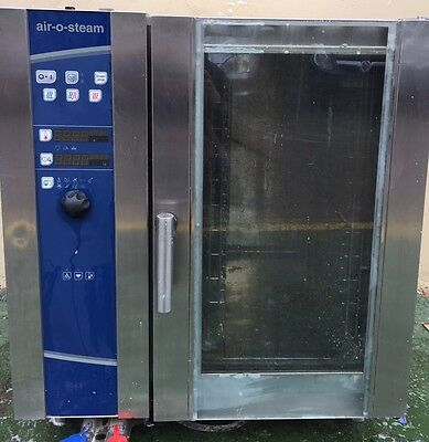 Commercial Electrolux Air-O-Steam Oven with Stand and Softner - 3Phase Electric