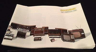 Panasonic - The Complete Line Catalog; Vintage 1970's Rare And Hard To Find!