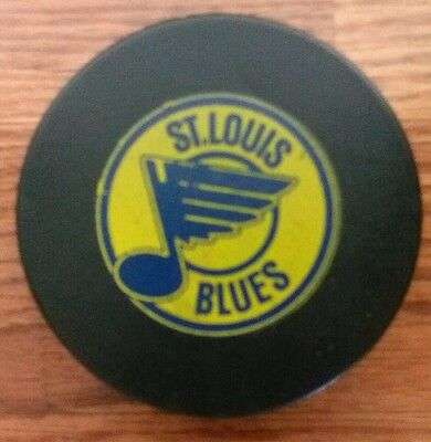 St. Louis Blues VICEROY  Hockey Puck NHL Original MADE IN CANADA 1979-81 RARE