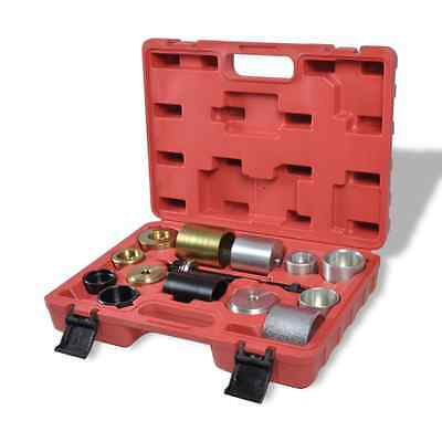 New 16pc Silent Bearing Puller Kit Ball Joint Bush Remover Axle Extractors Tool