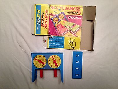 vintage boxed matchbox Superfast SF-18 Lap counter