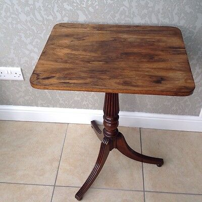 antique rosewood early 19 c side table