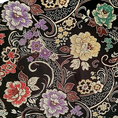 50cm (0,5m) Fabric of brocade woven fine embroidery Dress Craft sewing
