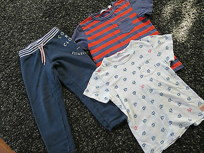 COUNTRY ROAD boys pants and top x2. Size 4-5