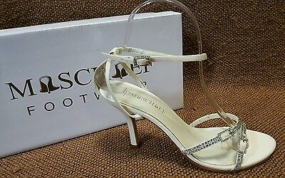 Ladies Shoes Mischief Size 9 Wedding/Formal/Bridesmaid Heels Strappy Sandal BNIB
