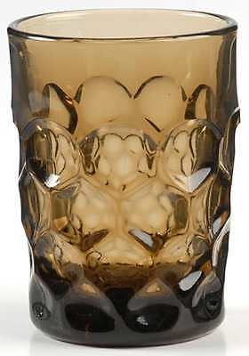Imperial Glass Ohio PROVINCIAL BROWN Tumbler 237632