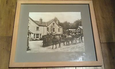 Exmoor Forest Hotel Simonsbath - 1907 Print / Picture 15x13