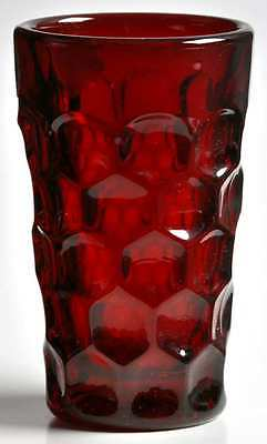 Imperial Glass Ohio PROVINCIAL DARK RUBY Juice Glass 237638