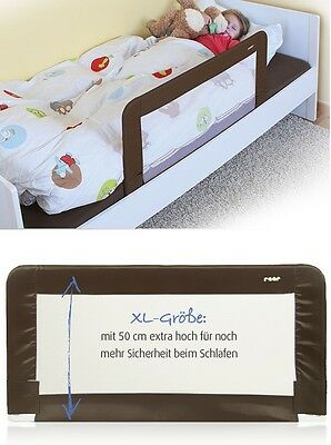 Reer Sleep`n Keep Bettgitter XL 150 cm inkl.Tasche Braun 45040 ++ B-Ware ++