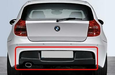 Bmw New Genuine 1 Series E81 E87 E87 Lci M Sport Rear Diffuser 7837325