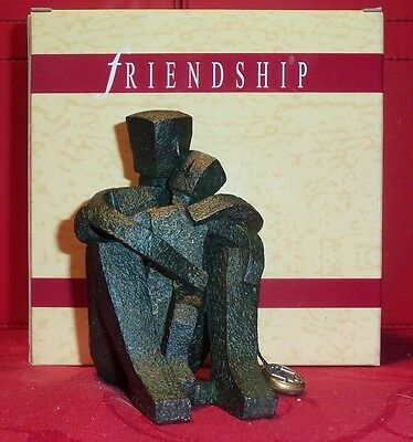 I'll Protect You - Friendship Sculpture 33000 - Adult Protecting Child - Bnib