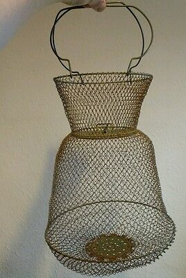Vintage French Egg Collecting Basket/Oyster Collecting?