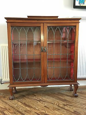Antique Display Cabinet - Local Collection Only - Rotherham