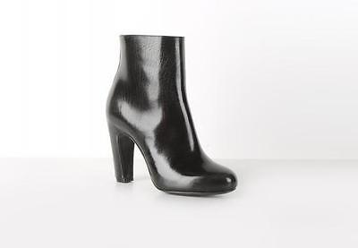 Maison Martin Margiela black leather ankle high heel boots size 35 / 5 RRP $602!