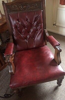 Chesterfield Captains Antique Chair
