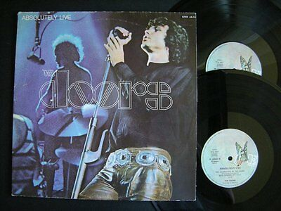 THE DOORS - ABSOLUTELY LIVE VINYLE 33 tours