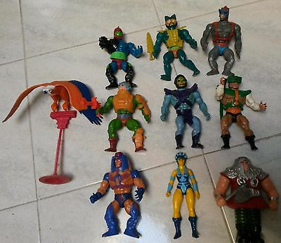He man Masters of the universe anni 80 vintage lotto action figure motu