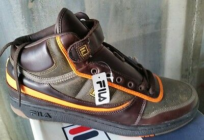 Lot Of 8 Fila Trainers Hi Retro Sneakers New & Boxed Size 8 10 11 Uk